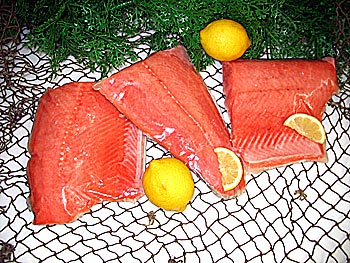 Wild Coho Salmon - Fishermen Direct Gold Beach OR