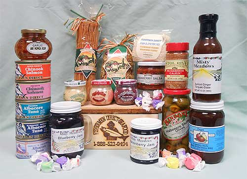 Product Assortment from Fishermen Direct